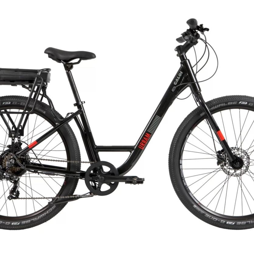 Bicicleta Caloi Easy Rider E-Vibe Urbam Preto/Laranja