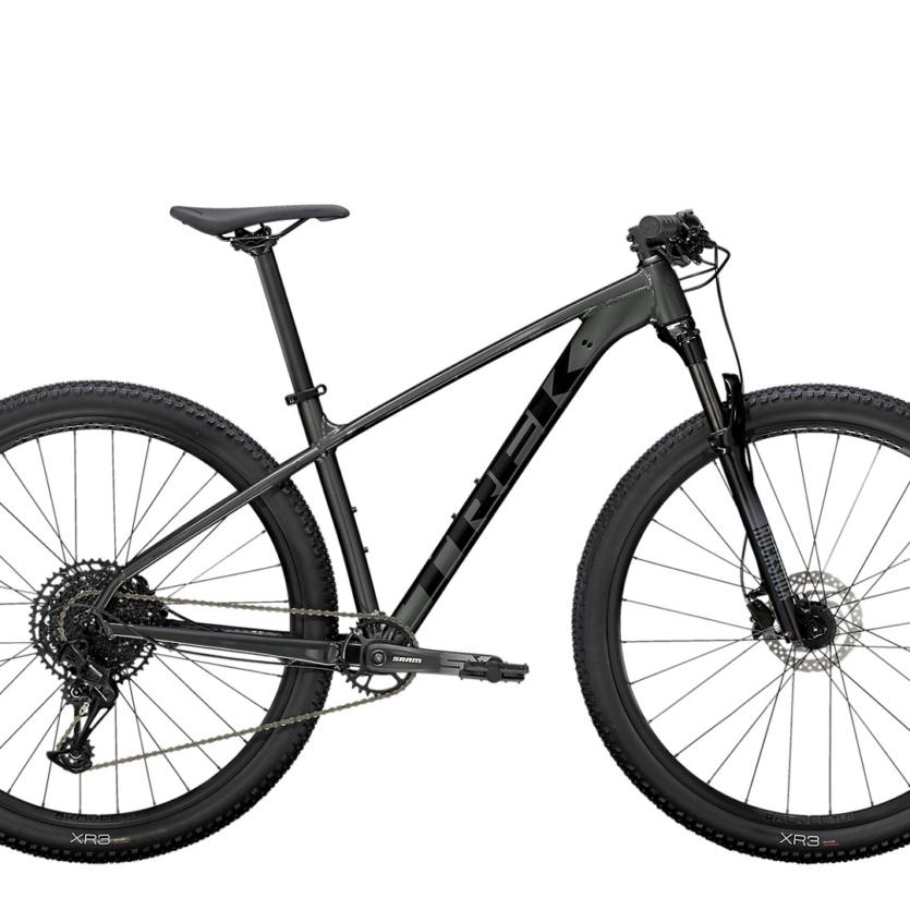Bicicleta trek x caliber 8 cinza